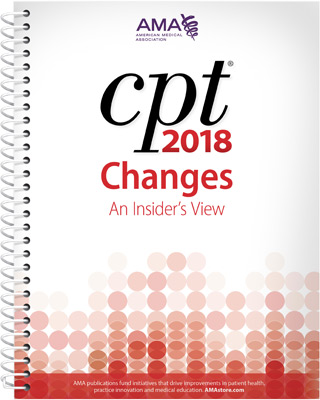 CPT® Changes 2018: An Insider's View Book Cover