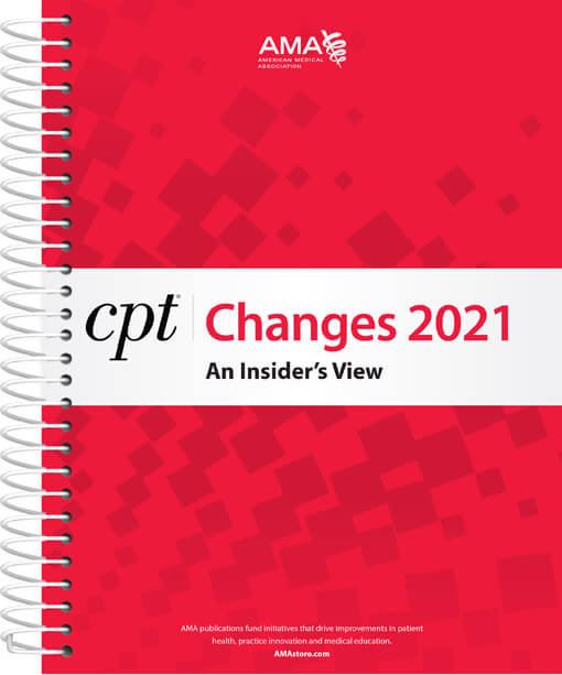 CPT® Changes 2021: An Insider's View Book Cover