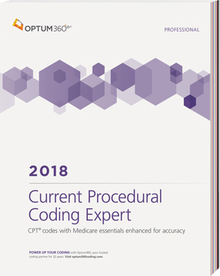 Current Procedural Coding Expert 2018 Softbound Book Cover