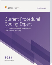 Current Procedural Coding Expert 2021 Softbound Book Cover