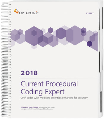 Current Procedural Coding Expert 2018 Spiral Book Cover