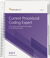 Current Procedural Coding Expert 2021 Spiral Book Cover