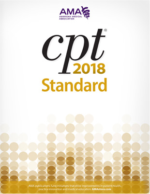 CPT® 2018 Standard Softbound Book Cover